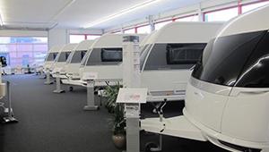 nieuwe caravan